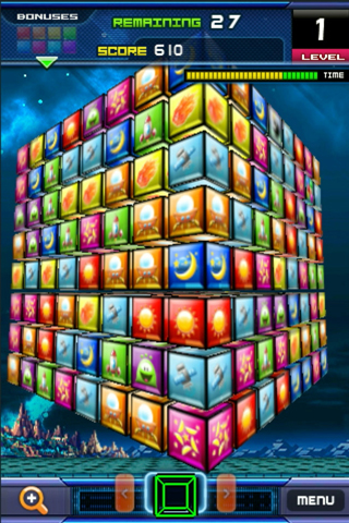Screenshot Match 3D Flick Puzzle FREE!